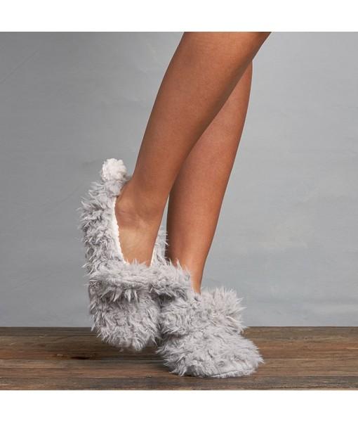 Shaggy Bunny Slipper Style L-2490