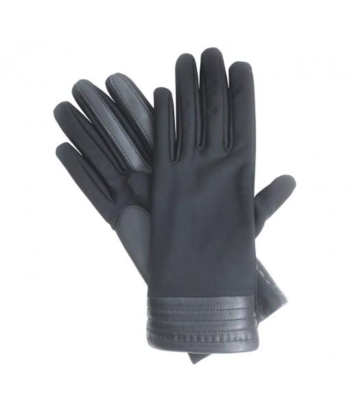 Isotoner Women's SmarTouch Stretch Metallic Hem Gloves