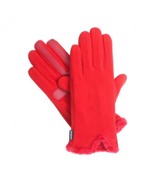 Isotoner Women's SmarTouch Stretch Fleece Gloves with SmartDri